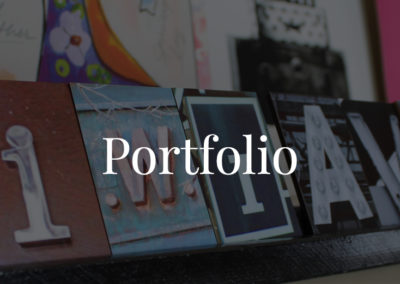 Portfolio Top Image